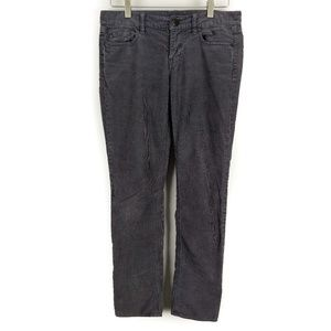 J. Crew City Fit Gray Corduroy Skinny Jeans 25 S